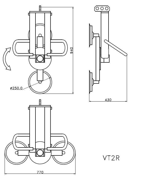 VT2R tecnica