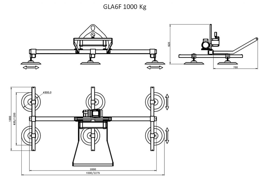 GLA6F 1000