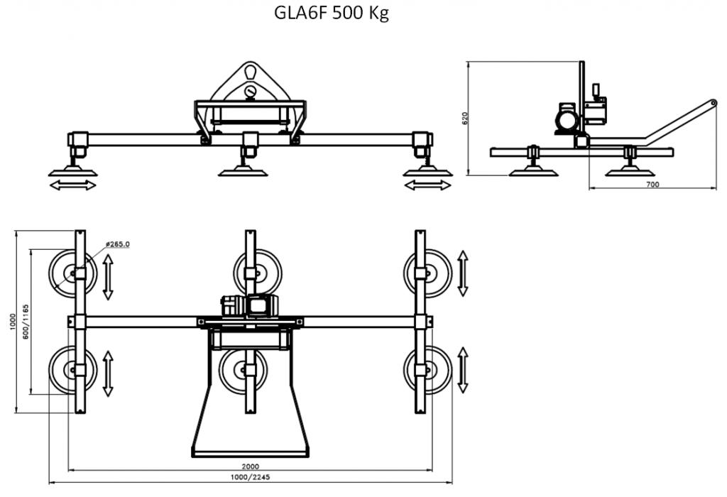 GLA6F 500