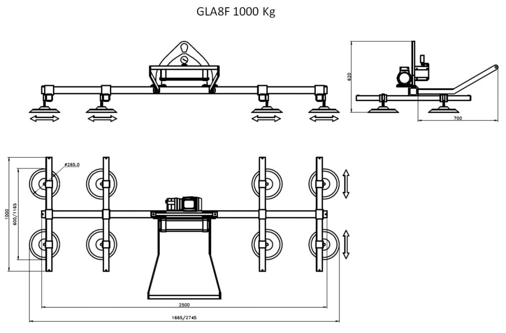 GLA8F 1000
