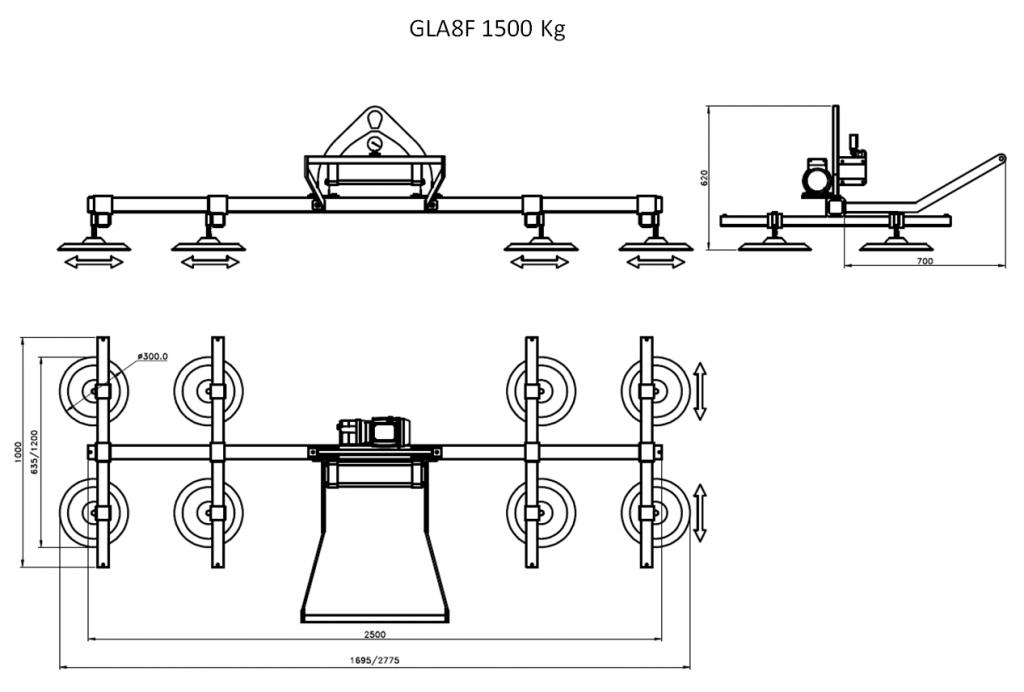 GLA8F 1500